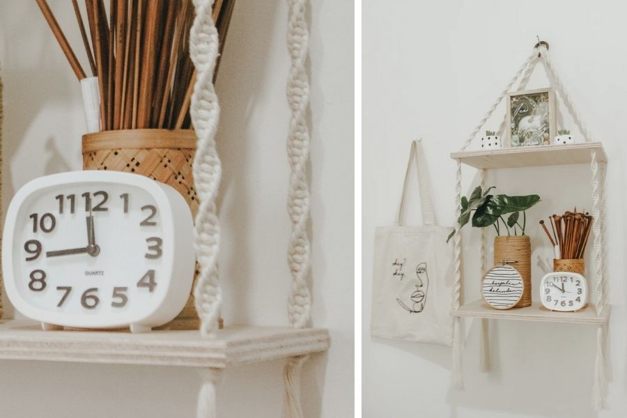 14 Easy DIY Macrame Projects for Bookworms Macrame Bookmarks Shelf