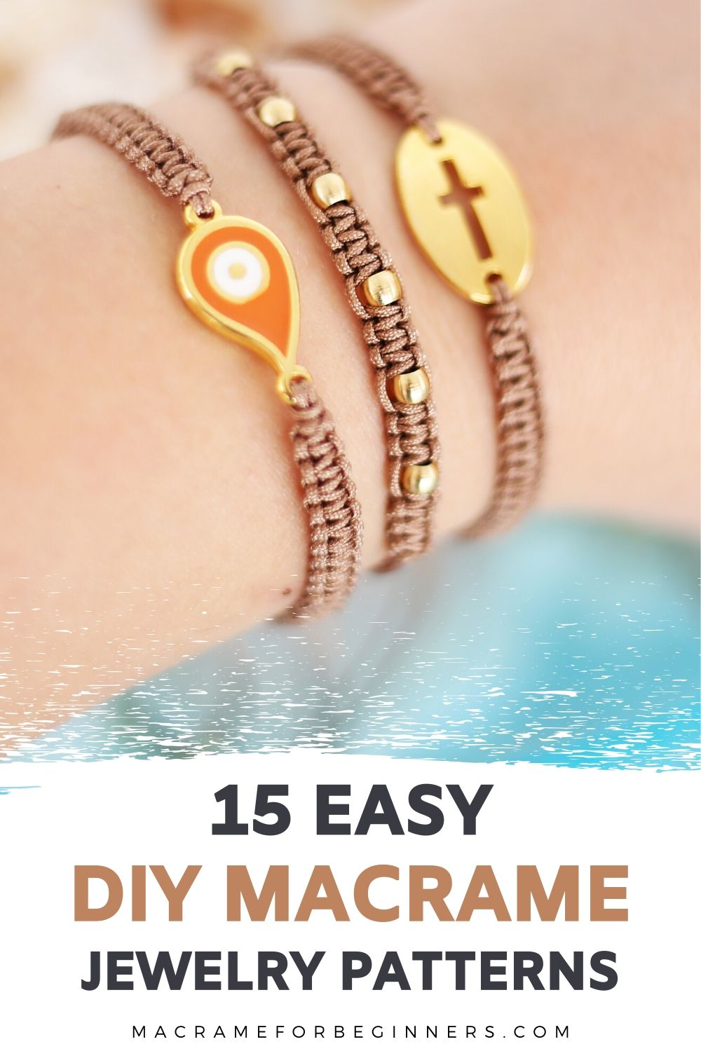15 Easy DIY Macrame Jewelry Projects for Beginners - Macrame for Beginners