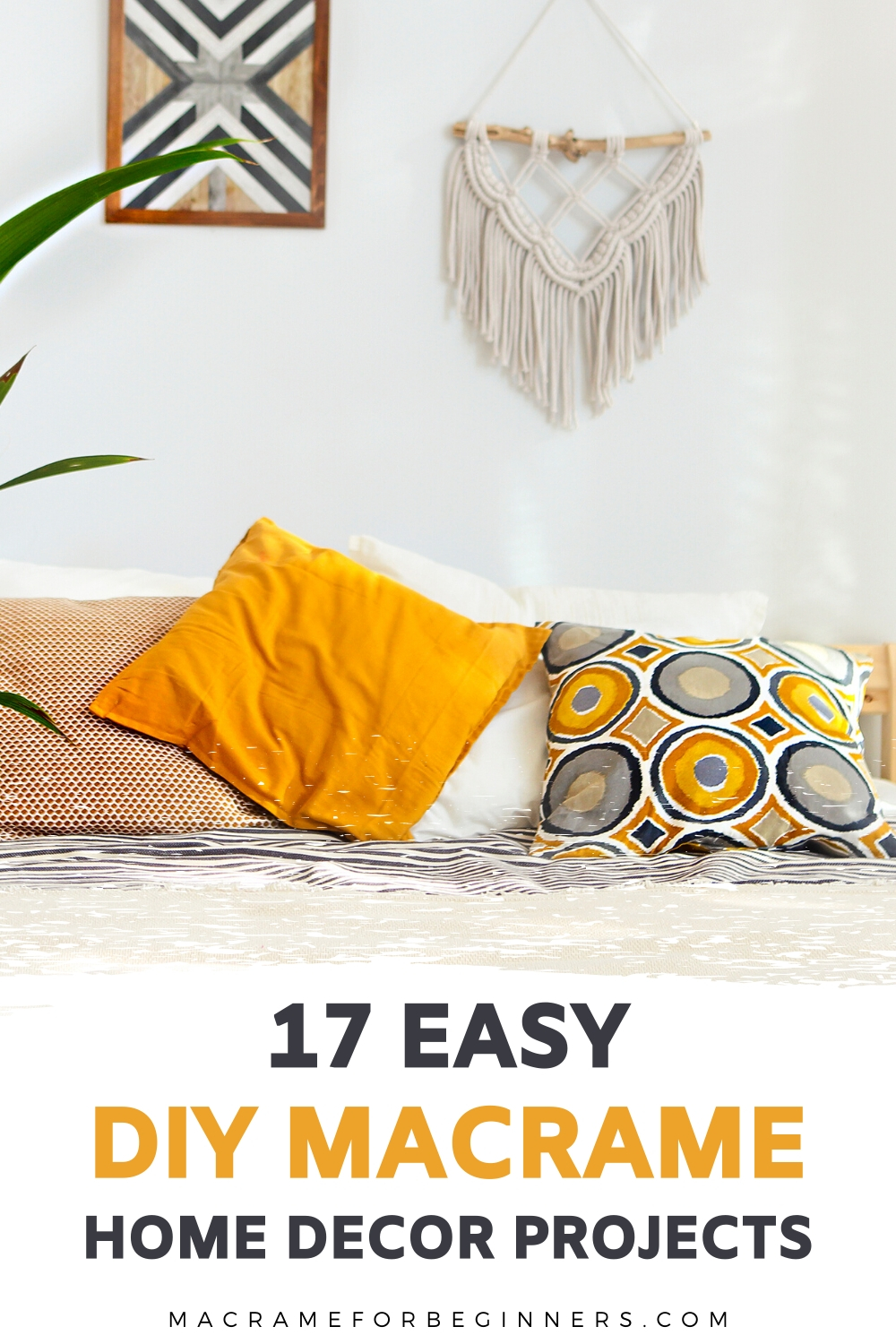 17 BOHO Macrame Home Decor Projects for Beginners - Macrame for Beginners