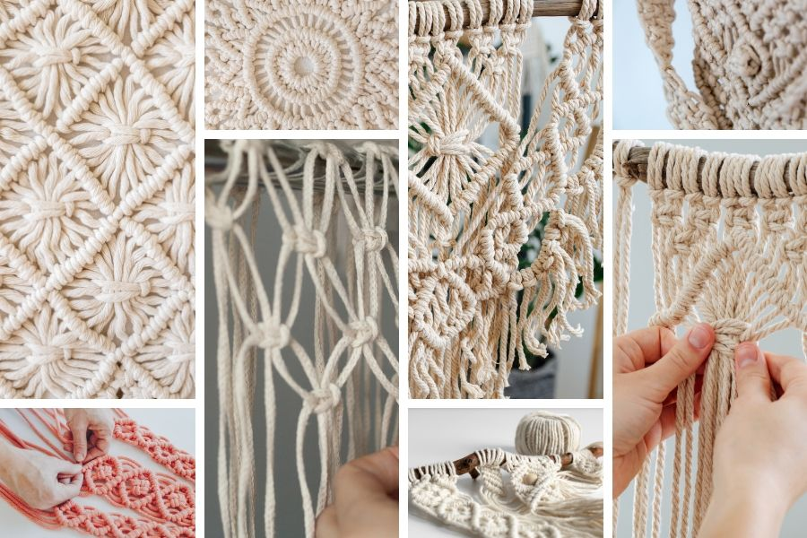 Macrame for Beginners - What are the basic Macrame knots?
