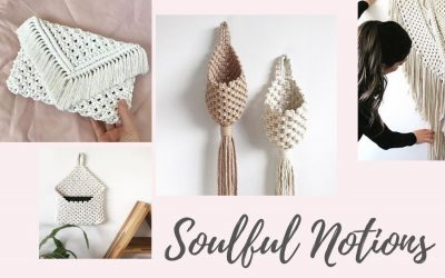 Top 10 Most Gorgeous Macrame Tutorials by Soulful Notions + Interview