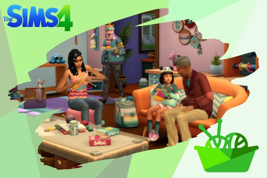 Nifty Knitting Stuff Pack The Sims 4