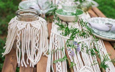 12 Easy Boho-chic Macrame Vase & Mason Jar Cover Patterns