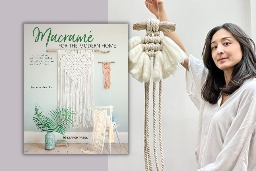 Best Macrame Books for Beginners & Beyond - Macrame for the Modern Home -- Isabella Strambio