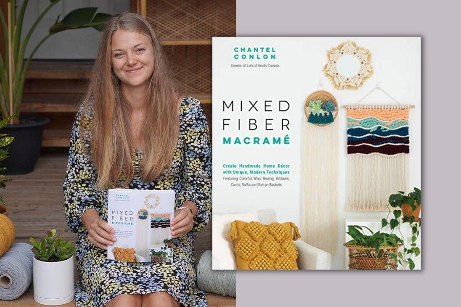 Best Macrame Books for Beginners & Beyond - Mixed Fiber Macrame Chantel Conlon Lots of Knots Canada