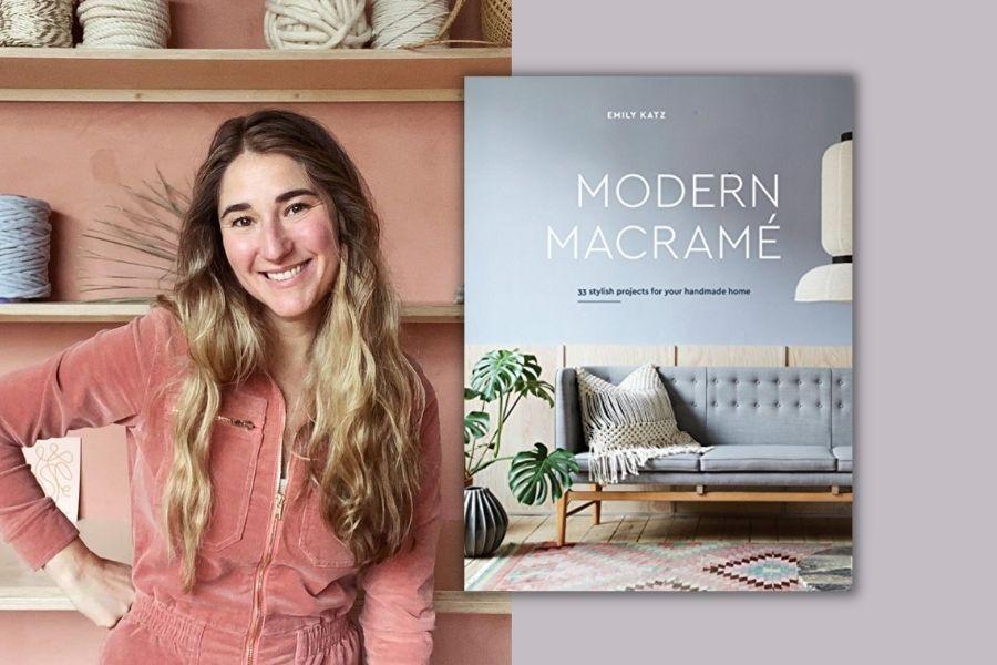 Best Macrame Books for Beginners & Beyond - Modern Macrame by Emily Katz