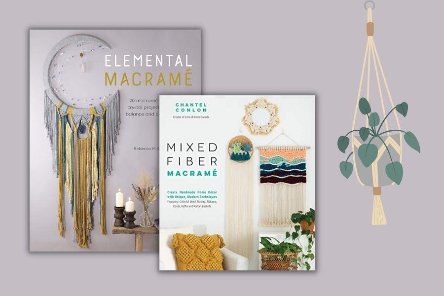 Best Macrame Books for Beginners & Beyond