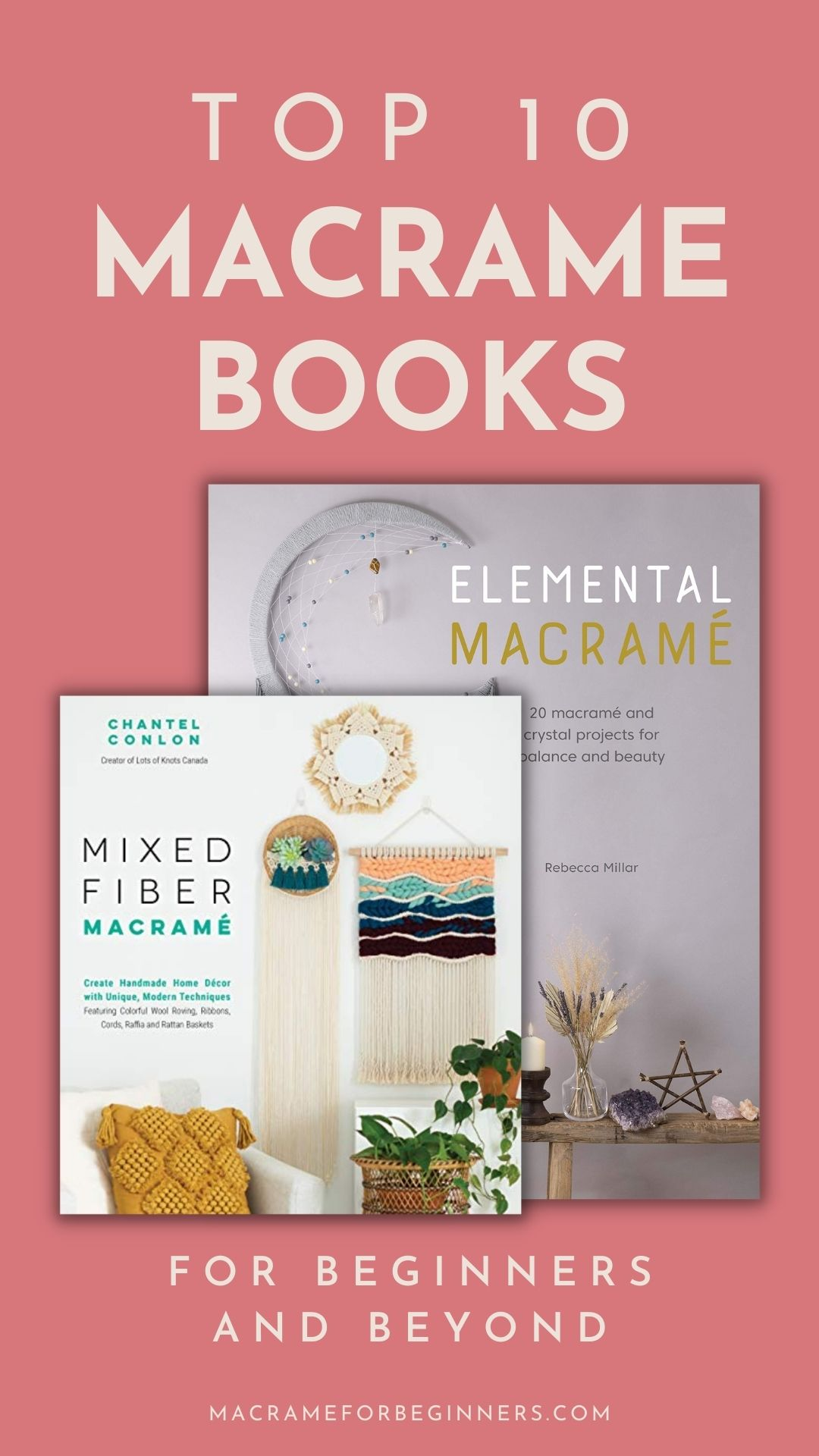 Best Macrame Books for Beginners and Beyond - Macrame for Beginners