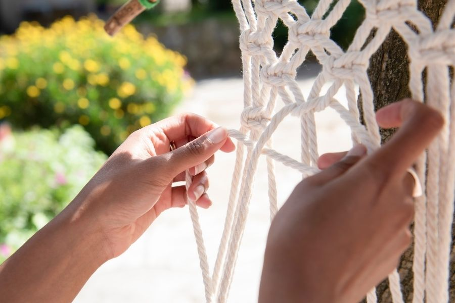 Square Knot Guide Macrame for Beginners