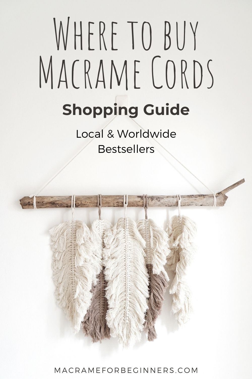 Where to buy Macrame Cords - Shopping Guide with Local and Worldwide Bestsellers