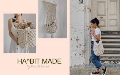 Making Beautiful Things with Macrame Teacher Dan Soliman from Habit Made