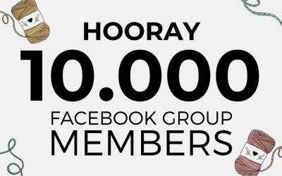 Macrame for Beginners Celebrates 10.000 Facebook Group Members!