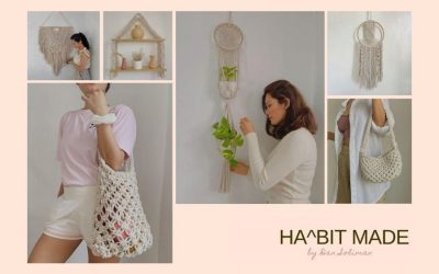 10 Gorgeous Free DIY Macrame Projects by Habit Made