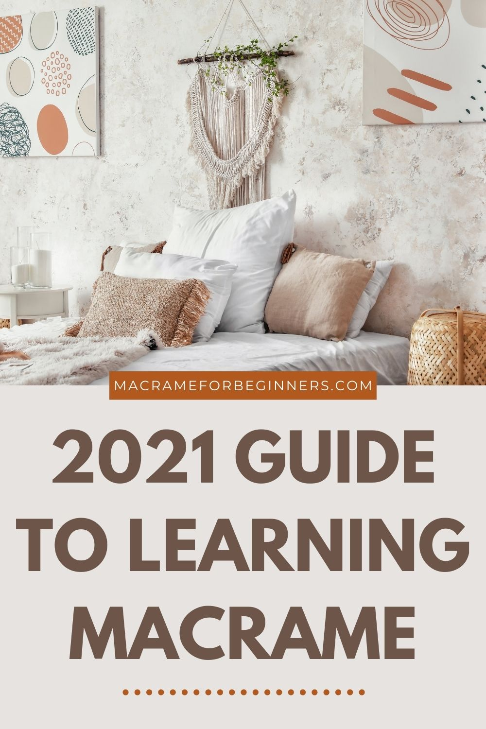 2021 Macrame Guide - How to Start with Macrame in 2021 - Super Quick Guide for Beginners 6
