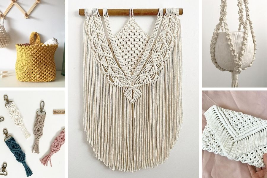 How to start with Macrame in 2021 - Macrame Projects by Soulful Notions - Macrame for Beginners