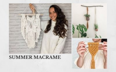 Interview + Make Your Own Gorgeous Home Decor with Teacher Saskia from Summer Macrame
