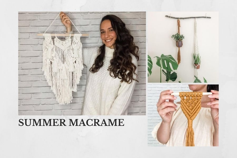 Interview + Make Your Own Home Decor with Teacher Saskia from Summer Macrame - Macrame for Beginners Header
