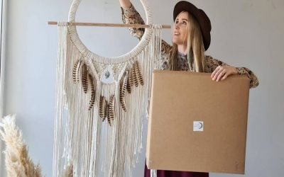 8 Beautiful Free Boho Macrame Patterns with DIY Kit by Vanir Creations