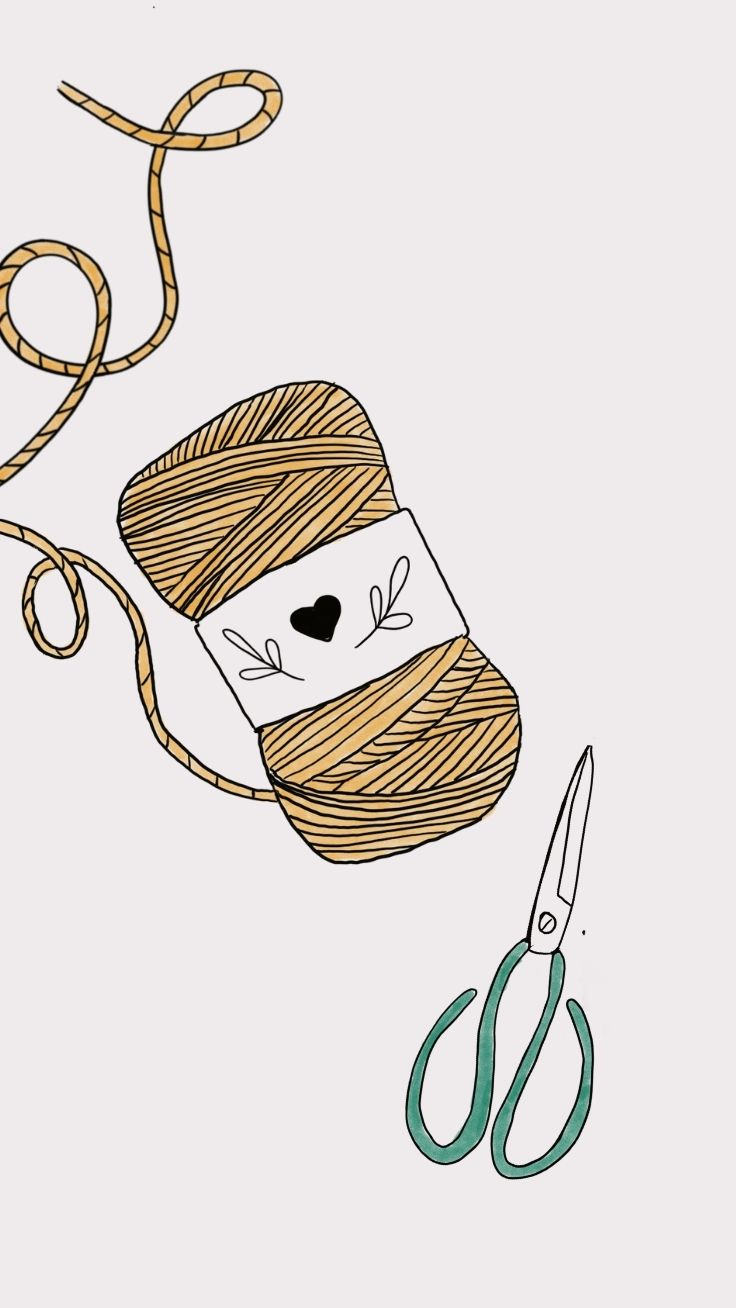 iPhone Wallpaper Quote Macrame Feeling Knotty