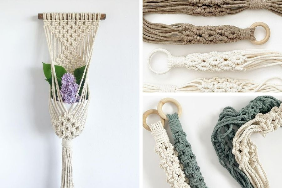 10 Gorgeous Easy Macrame Plant Hangers for Beginners by Soulful Notions