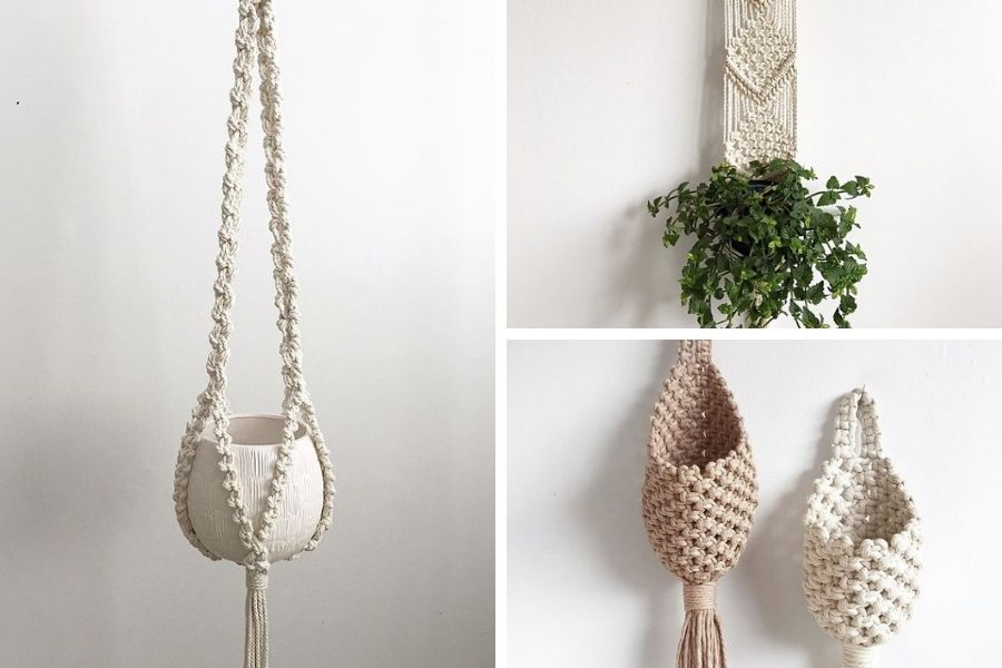 10 Gorgeous Easy Macrame Plant Hangers for Beginners by Soulful Notions - Macrame for Beginners
