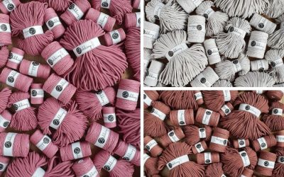Bobbiny Launches 3 New Spring Shades - Discover Sunset, Moonlight, and Blossom Macrame Cords!