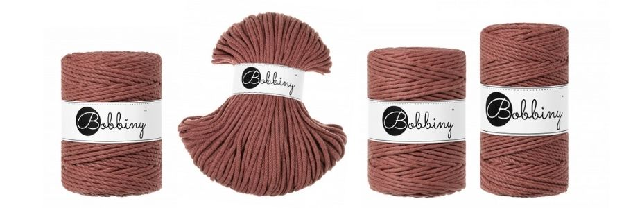Bobbiny Macrame Cords Sunset - Spring 2021 Cord Collection