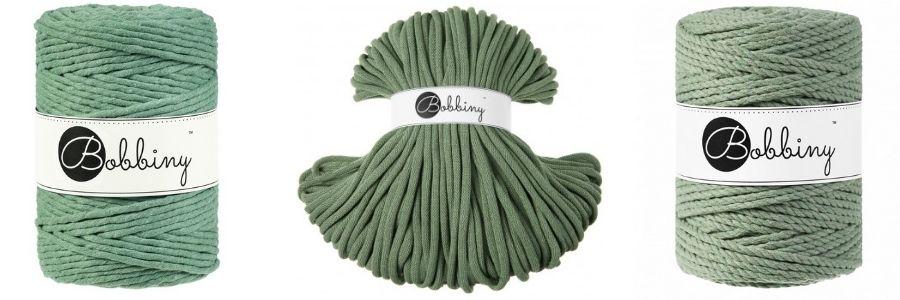 Eucalyptus Macrame Cords - Bobbiny