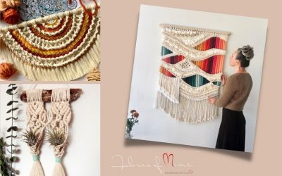 Learn New Skills with Macrame Artist Sasha from Fibers of Mine
