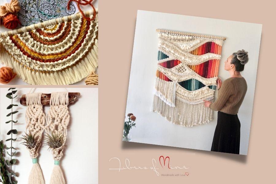 Learn New Skills with Macrame Artist Sasha from Fibers of Mine