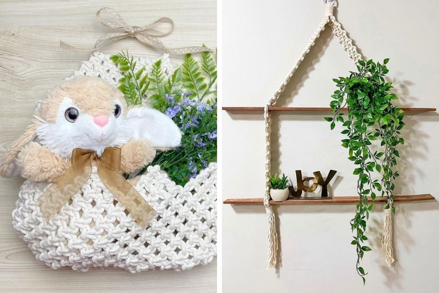 Simply Inspired Macrame Patterns and Free Video Tutorials - Macrame for Beginners