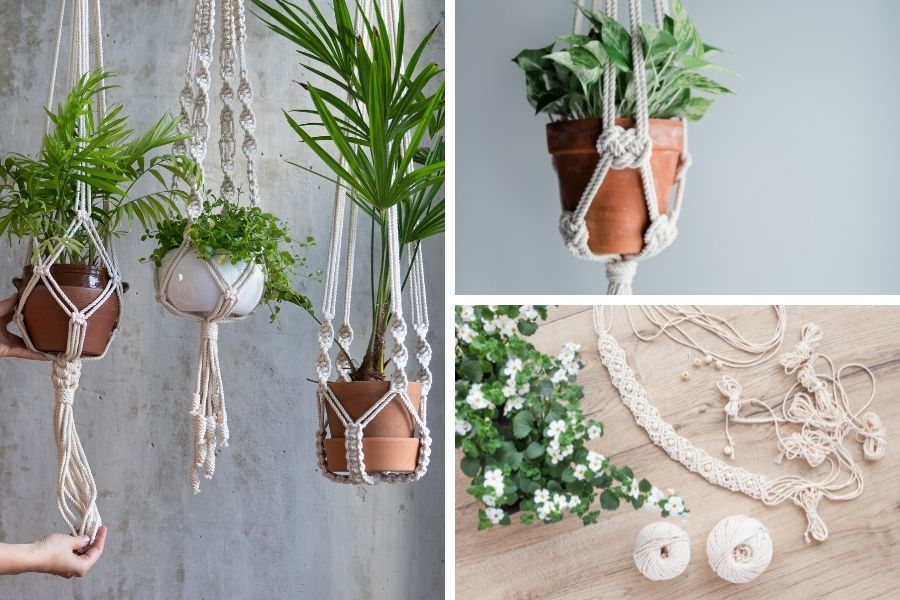 15 Low-Budget Decor Ideas to Create a Cozy Home - Macrame Styling Tips - Macrame Plant Hangers