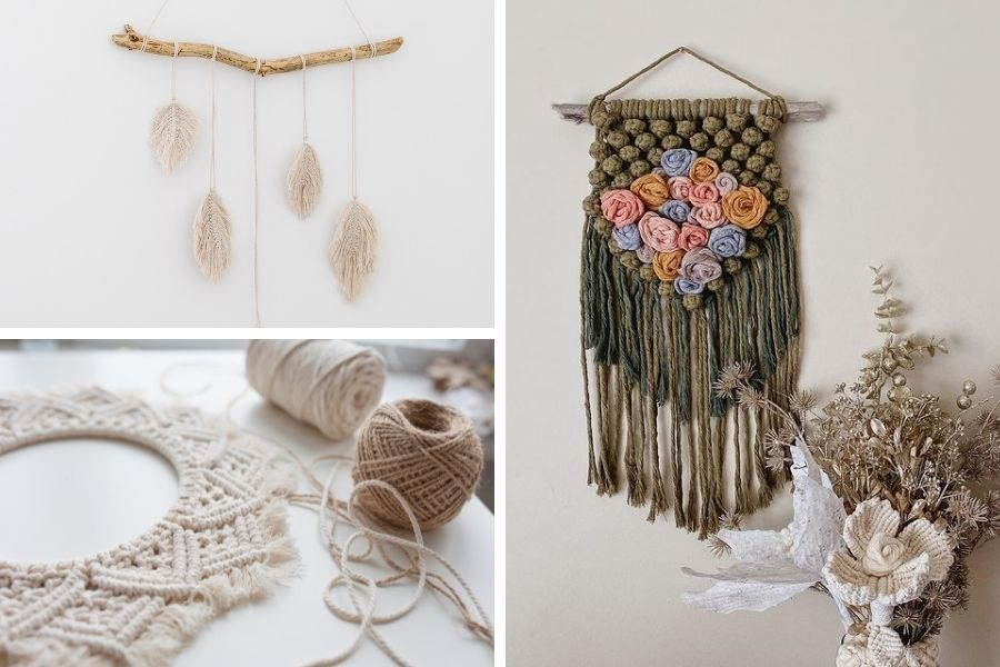 15 Low-Budget Decor Ideas to Create a Cozy Home - Macrame Styling Tips - Macrame Wall Hanging