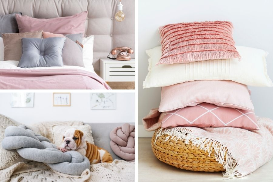 15 Low-Budget Decor Ideas to Create a Cozy Home - Macrame Styling Tips - Pillows and Blankets