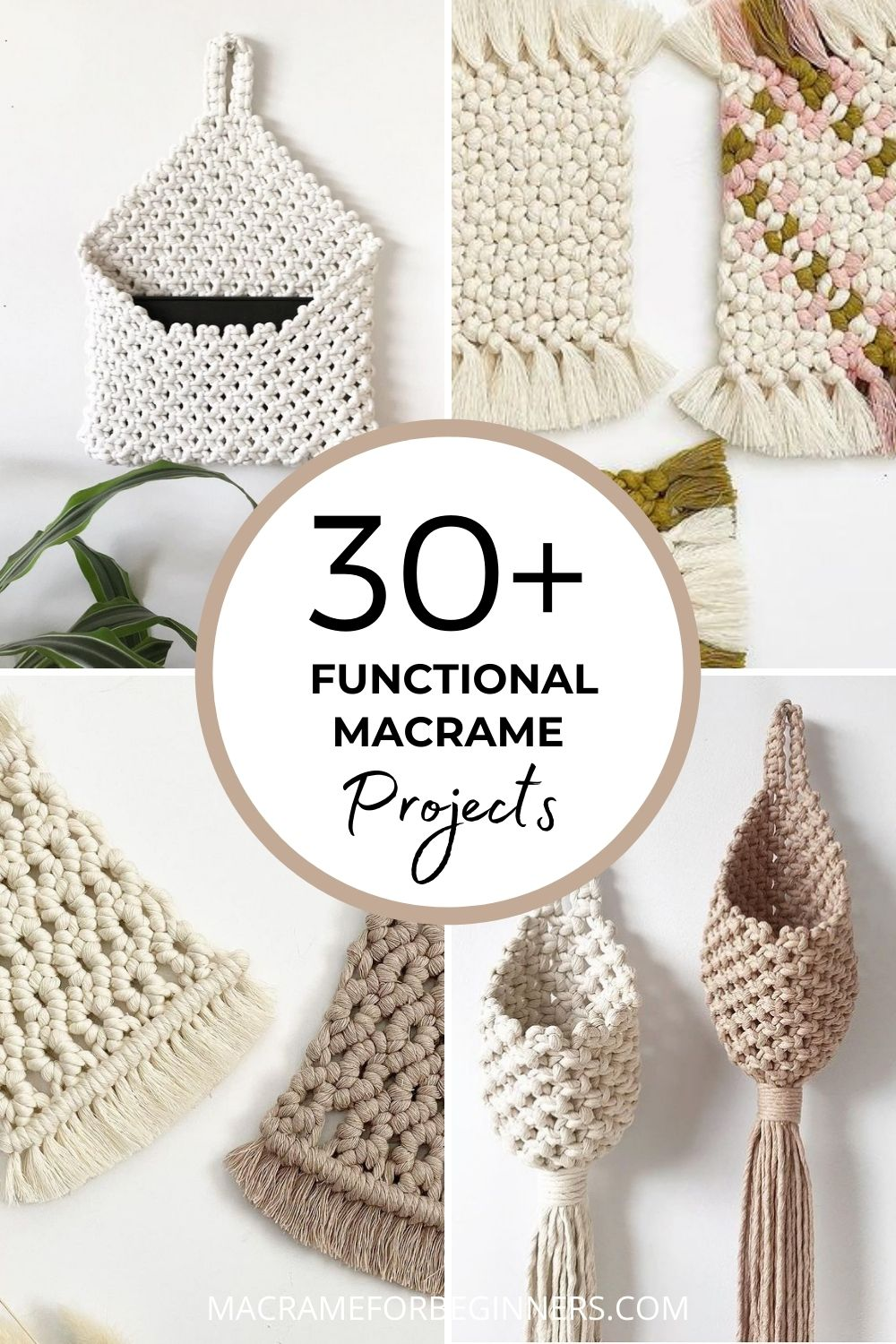 30+ Functional Macrame Projects - How to Style Your Entire Home with Macrame
