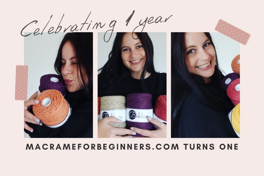 Hooray! Macrame for Beginners Turns ONE – Celebrating Our 1 Year Anniversary