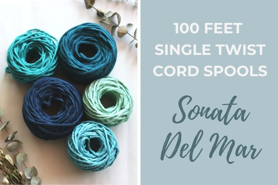 Sonata del Mar Macrame Wall Hanging Tutorial by Fibers of Mine Cords - Macrame for Beginners