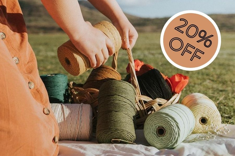 Best Amazon Prime Day Deal for Macrame Lovers: 20% Off on ALL Nook Theory Macrame Cords