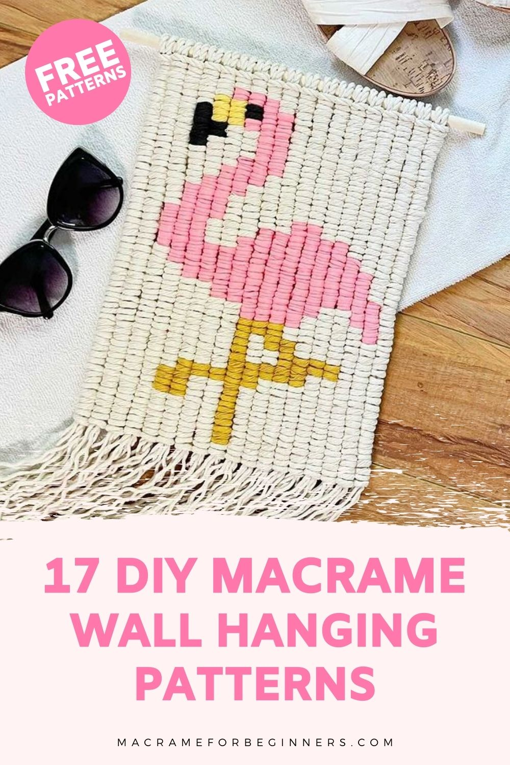 17 FREE Macrame Wall Hanging Patterns for Beginners