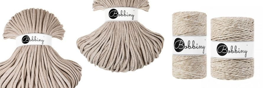 The New Bobbiny Summer 2021 Macrame Cord Collection - Frappe