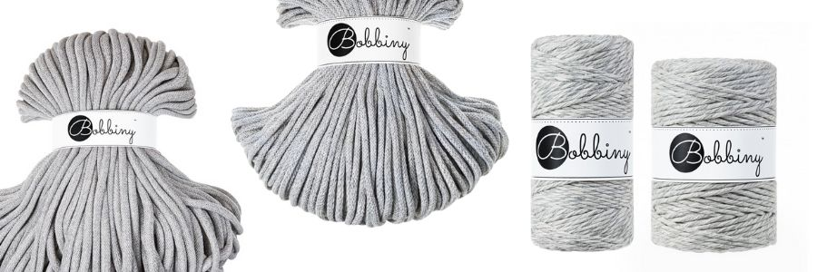 The New Bobbiny Summer 2021 Macrame Cord Collection - Marble