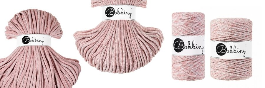 The New Bobbiny Summer 2021 Macrame Cord Collection - Strawberry