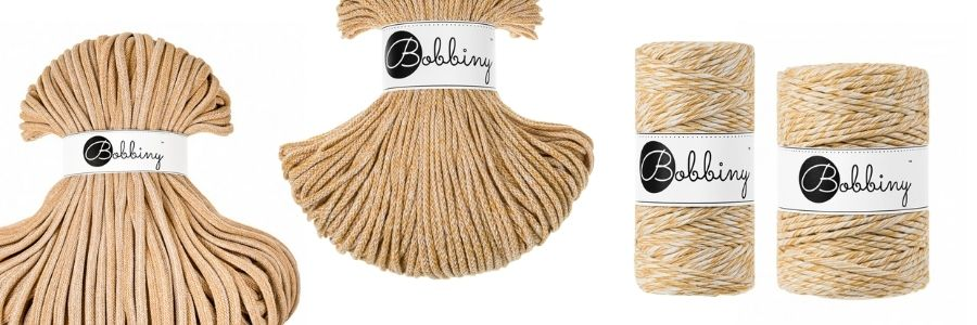 The New Bobbiny Summer 2021 Macrame Cord Collection - Sunflower