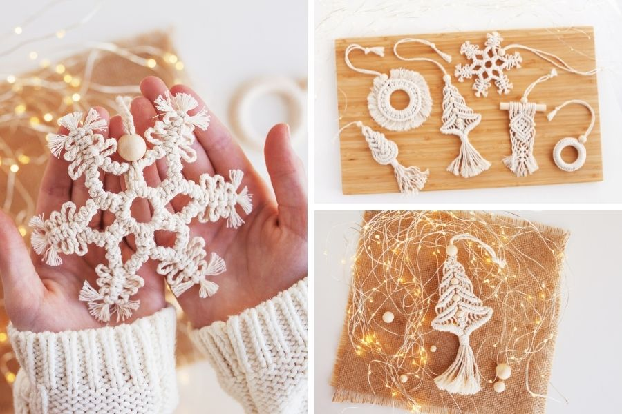 12 DIY Macrame Christmas Tree Pattern for Beginners