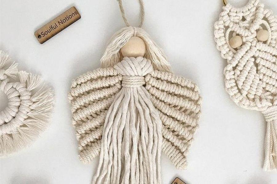 Macrame Angel Wings Pattern