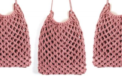 Tutorial of the Week: Gorgeous Macrame Market Bag Pattern by Soulful Notions