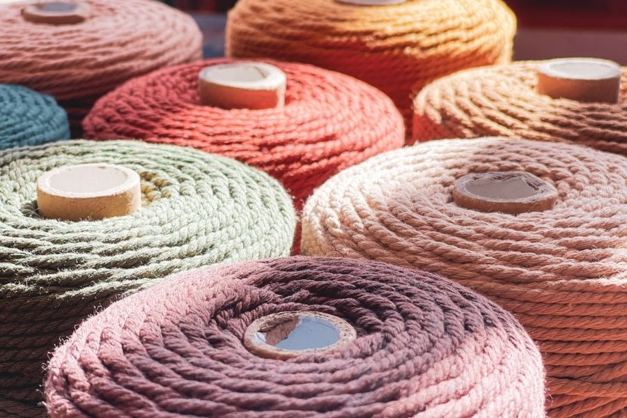 8 Gorgeous Macrame Cord Shades for your Autumn Projects – by Nook Theory