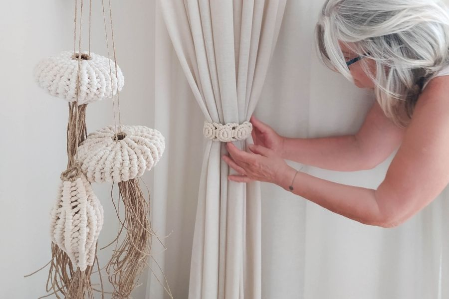 14 Beautiful and Unique Macrame Patterns by Ourania from myTotalHandmade