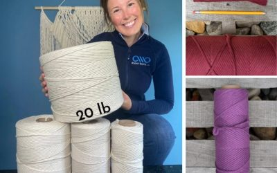 Favorite Macrame Supplier: RightRope.com – High-Quality Cords Perfect for XL Projects!